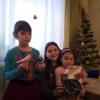 Набиуллины Назгуль и Амалия 10 и 7 лет
