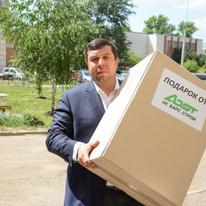 Директор компании АкБарсСтрой стал волонтером фонда День Добрых Дел