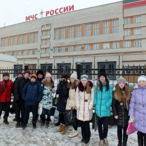 "Проект ""Знакомство с профессией"": МЧС"
