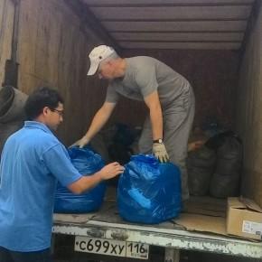 «День Добрых Дел» отправил в Великий Устюг грузовик с гуманитарным грузом.
