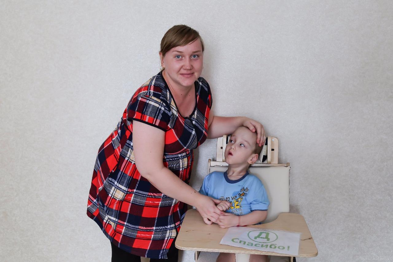 Дети из Оренбургской области получили удобные стульчики для жизни
