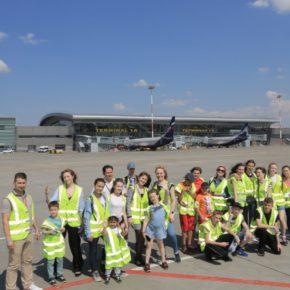 Казанский аэропорт провел экскурсию для подопечных фонда «День добрых дел»