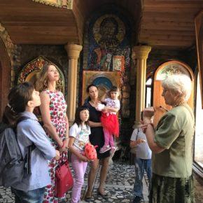 Подопечные «День добрых дел» побывали на экскурсии в «Храме всех религий»