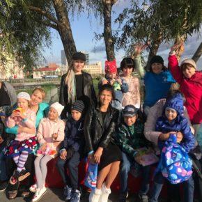 День добрых дел организовал экскурсию по о. Кабан для своих подопечных