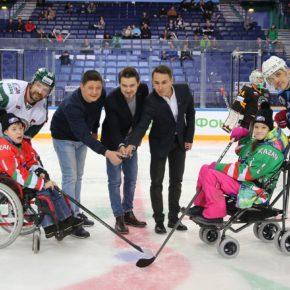 Хоккей каждому: подопечные фонда «День добрых дел» выйдут на лед с игроками Ночной Хоккейной Лиги