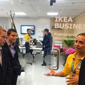 Подопечные «День добрых дел» изучили профессии  в ТЦ «Мега» и магазине IKЕА