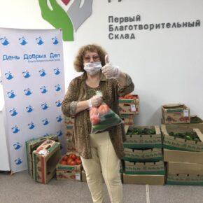 Тепличный комбинат «Майский» передал 2 тонны овощей  для подопечных фонда «День добрых дел»