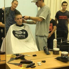 «День добрых дел» и стилисты «Watch Me» провели мастер-класс  по парикмахерскому искусству для воспитанников школы им. Галлямова