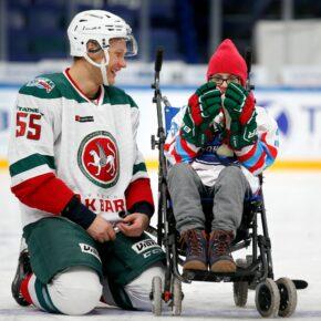 13 февраля в Казани состоится юбилейный матч благотворительного проекта «Хоккей каждому»